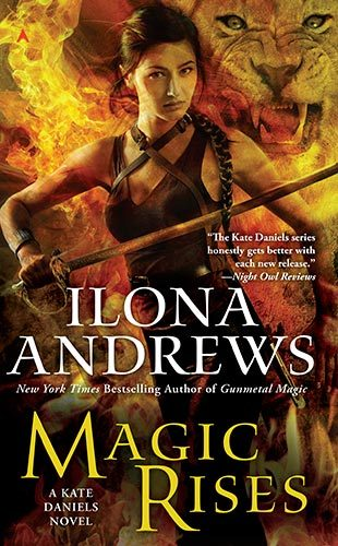 Book Cover: MAGIC RISES