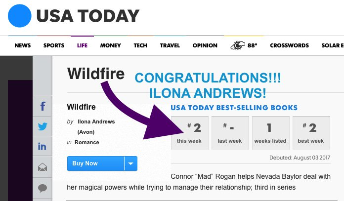 Wildfire #2 on USAT