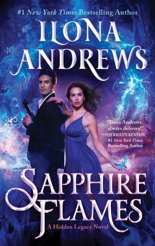 Book Cover: Sapphire Flames