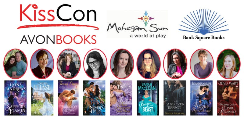 Authors attending Kisscon and their books