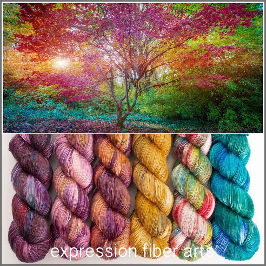 Yarn from Expression Arts